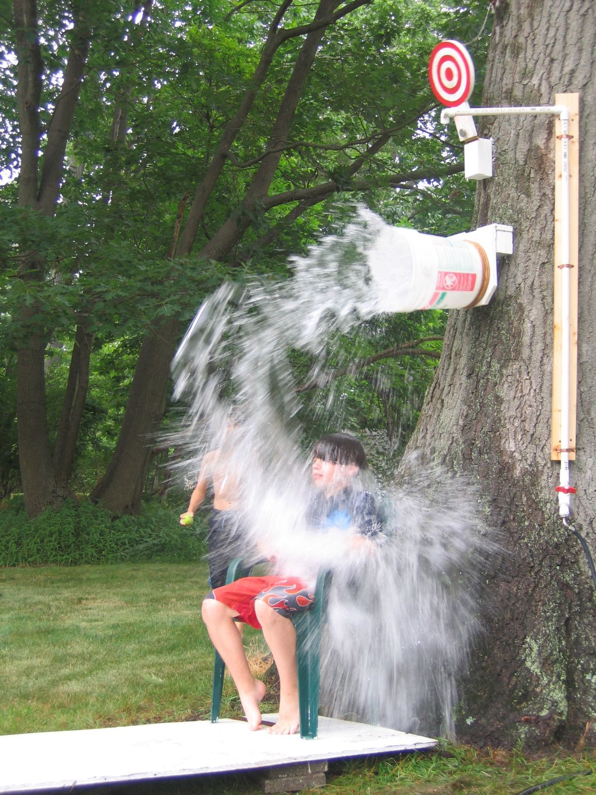 20 Fun Diy Outdoor Games For Kids Backyard Party Groups Building A Simple Circuit With Pinterest