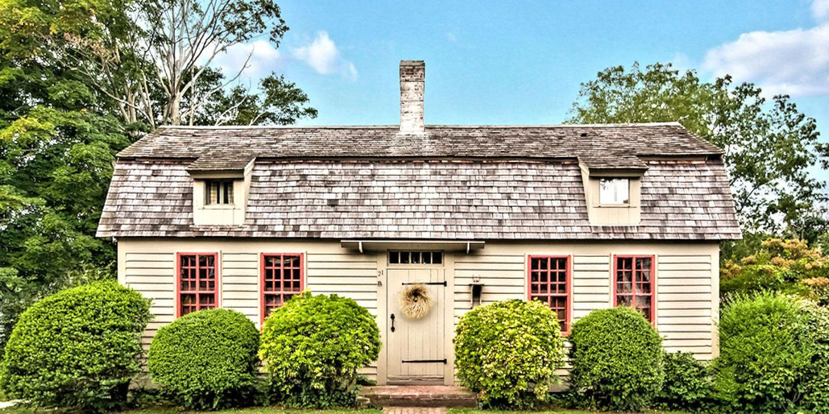 Cape cod inspired cottages 7 homes for sale with cape for Cape style homes for sale