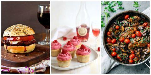 Food, Cuisine, Cupcake, Glass, Ingredient, Sweetness, Stemware, Drinkware, Drink, Tableware,