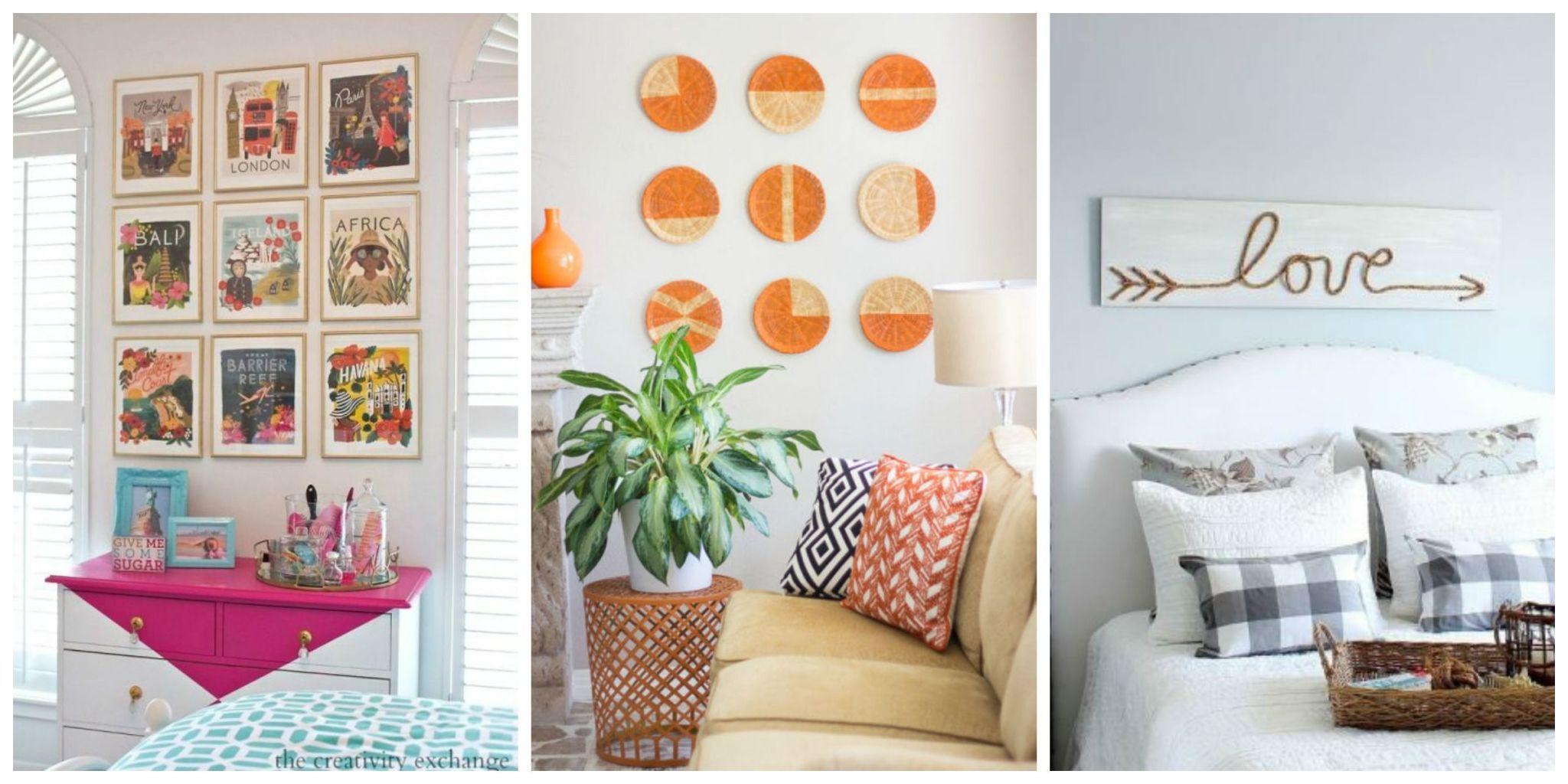 Inspiring Living Room Wall Art Ideas Gallery