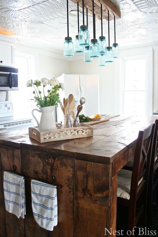 Mason Jar Kitchen Decorating Ideas , Mason Jar Ideas