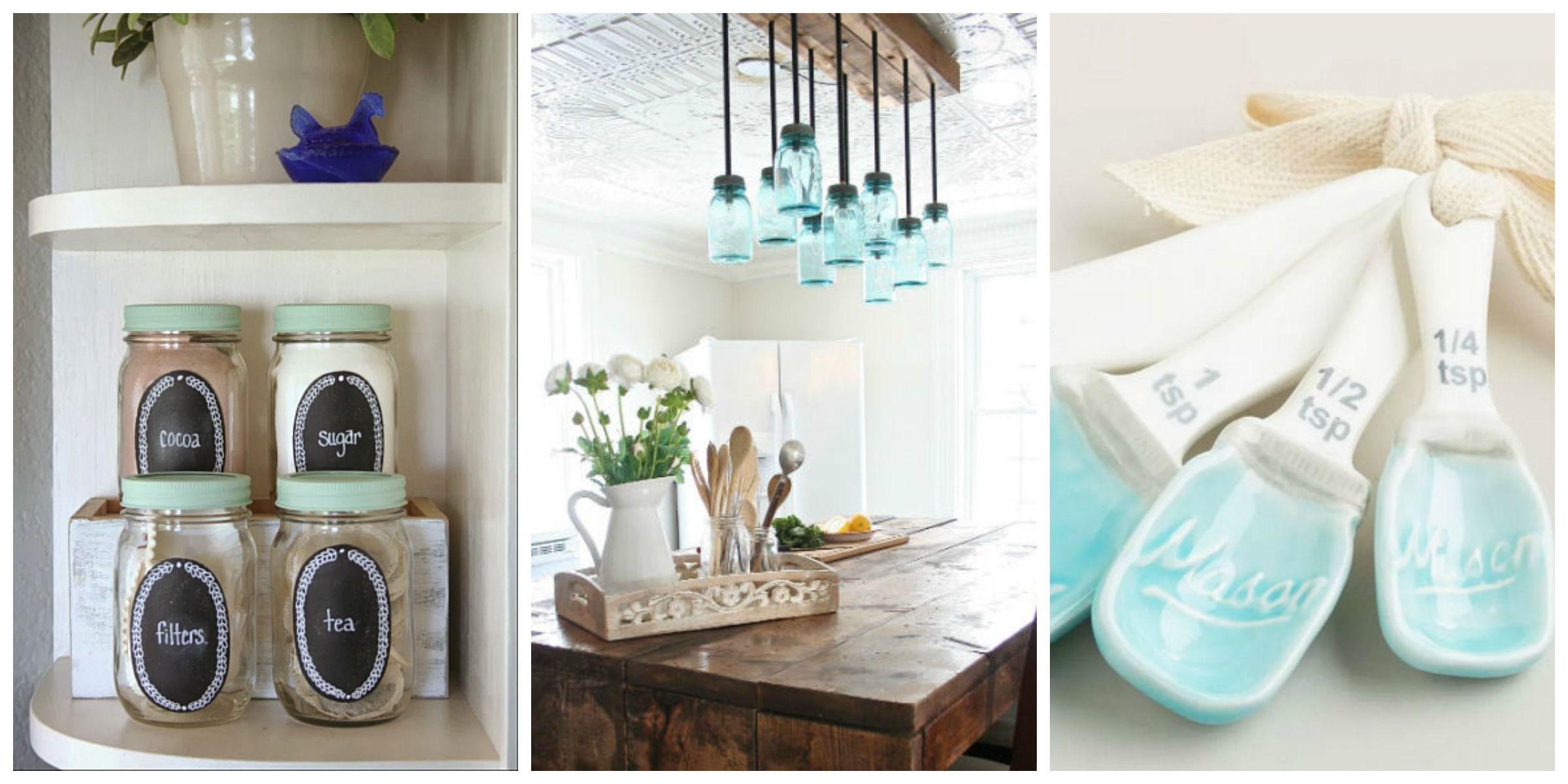 Mason Jar Kitchen Decorating Ideas - Mason Jar Ideas