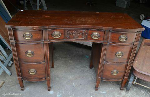 Wood, Drawer, Table, Wood stain, Furniture, Pattern, Hardwood, Desk, Cabinetry, Black,