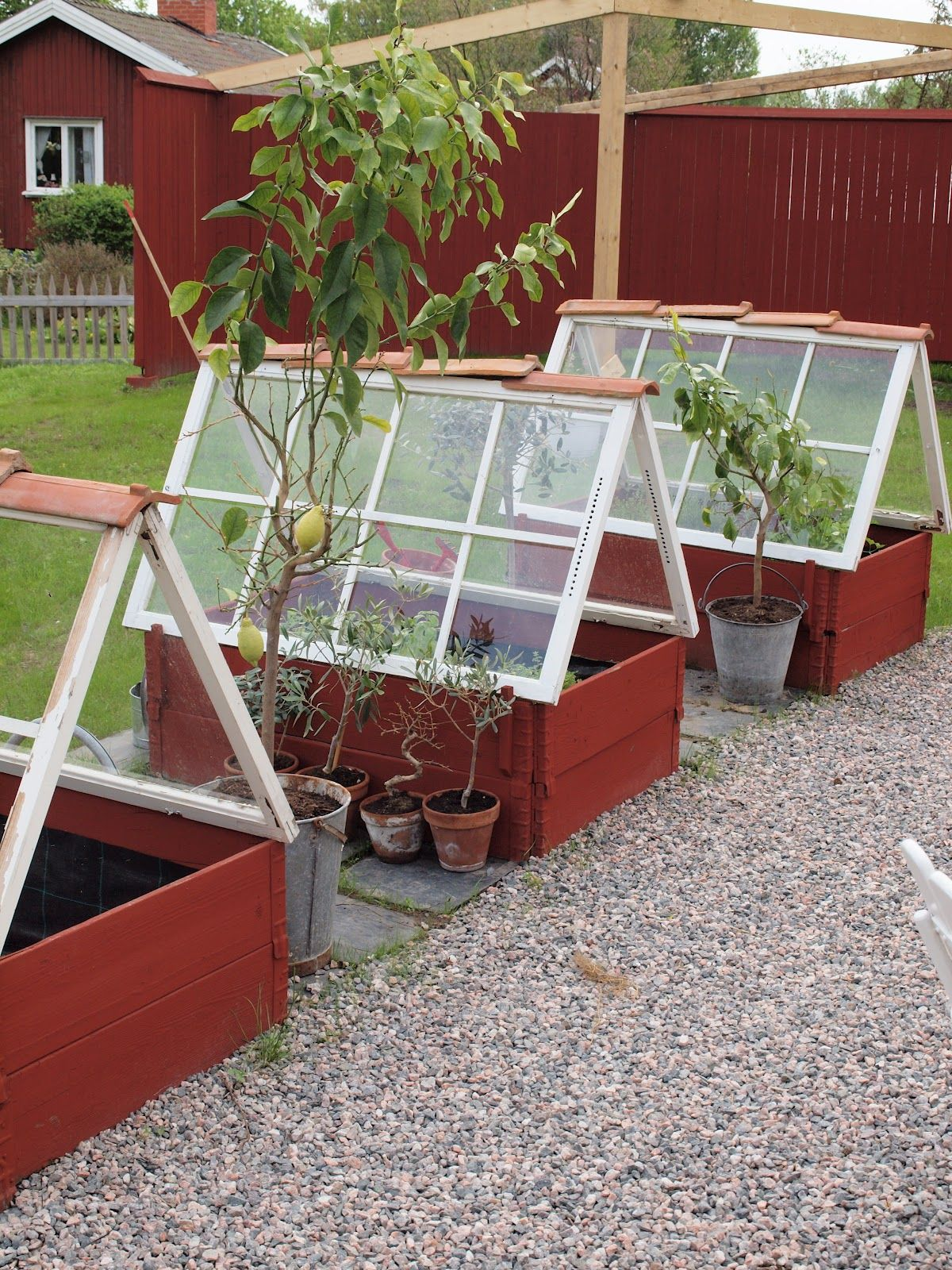 23 diy backyard greenhouses - how to make a greenhouse