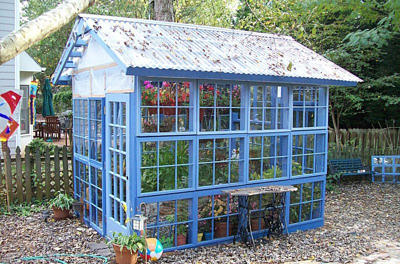 22 Diy Backyard Greenhouses How To Make A Greenhouse