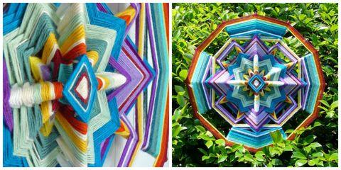 Colorfulness, Pattern, Textile, Purple, Art, Majorelle blue, Orange, Electric blue, Violet, Visual arts,
