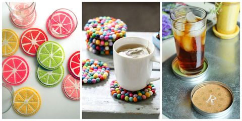 diy coasters drink coasters