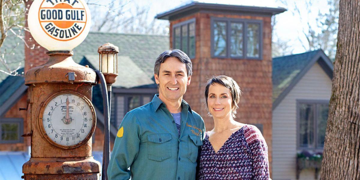 Mike And Jodi Wolfes Backyard American Pickers