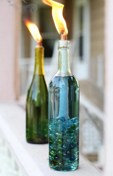 Attractive Wine Bottle Crafts Part - 8: Country Living Magazine