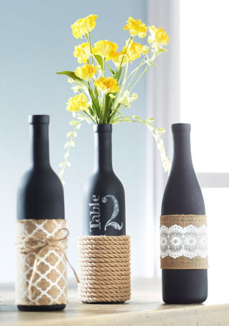 Wine Bottle Decor Interesting 24 Diy Wine Bottle Crafts  Empty Wine Bottle Decoration Ideas Design Inspiration