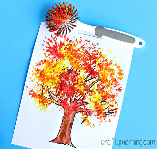 45 Fall Crafts For Kids