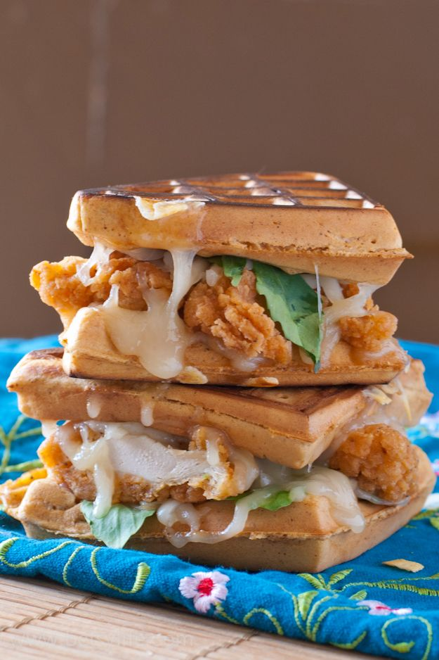 how to make chicken and waffles