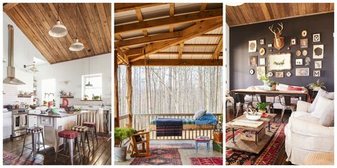 Darryl and Annie McCreary Cabin Decorating Ideas - Rustic Cabin Decor