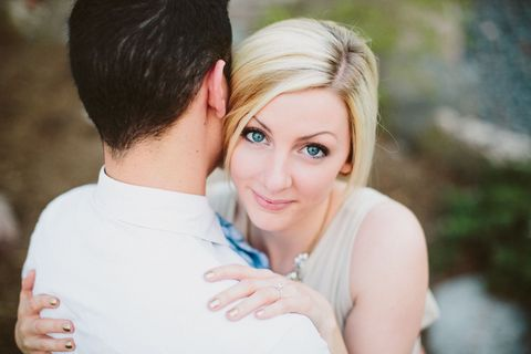 Head, Ear, Forehead, Happy, People in nature, Interaction, Love, Bride, Romance, Beauty,