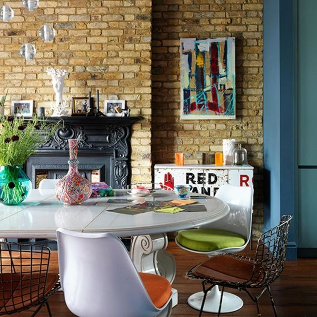exposed brick wall decorating ideas brick wall designs rh countryliving com
