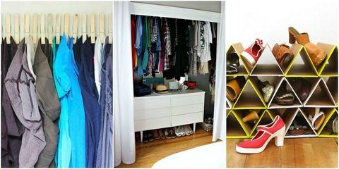 Room, Wood, Floor, Flooring, Closet, Shelving, Clothes hanger, Hardwood, Shelf, Cabinetry,