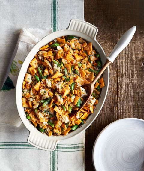 Green Bean-and-Barley Chicken Casserole
