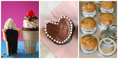 Food, Dessert, Baked goods, Cuisine, Ingredient, Baking cup, Sweetness, Recipe, Snack, Cupcake,
