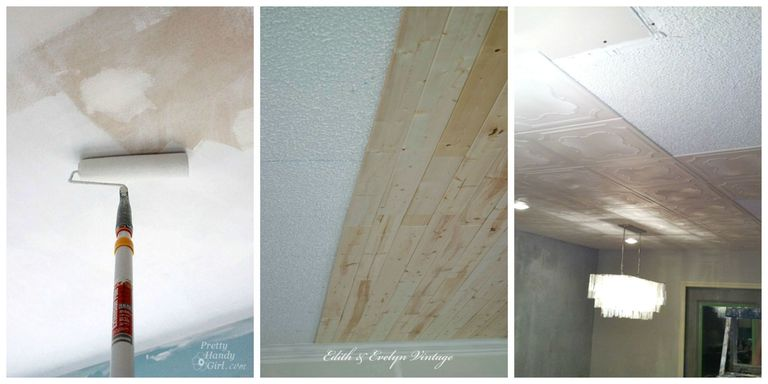 how to remove old popcorn ceiling
