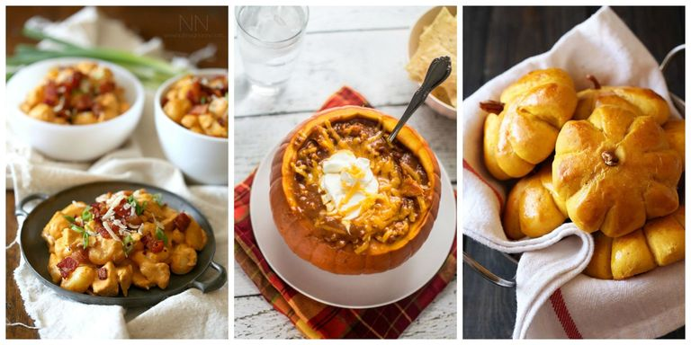 55 best pumpkin recipes easy dinner recipes for cooking fresh pumpkin fall flavors at their finest forumfinder Images