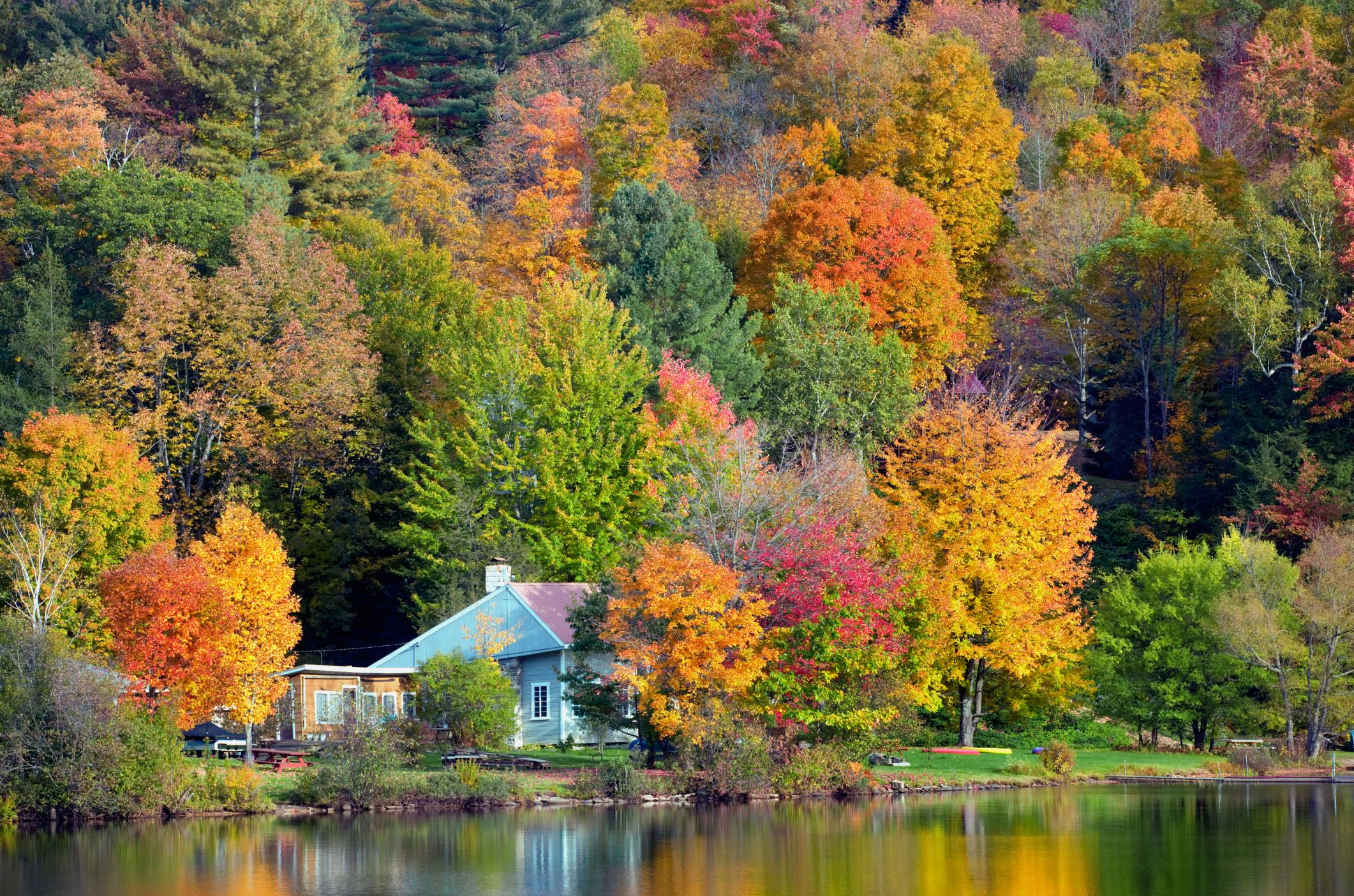 Best Fall Foliage Small Towns in America - Leaf Peeping Destinations