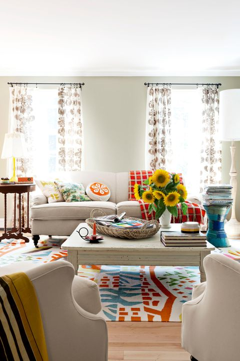 Ensure The Apt End Table Height For Homey Visual Harmony: Country Living Decorating Almanac