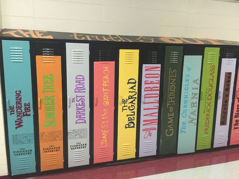 Text, Shelving, Publication, Shelf, Orange, Bookcase, Tints and shades, Parallel, Colorfulness, Book cover,