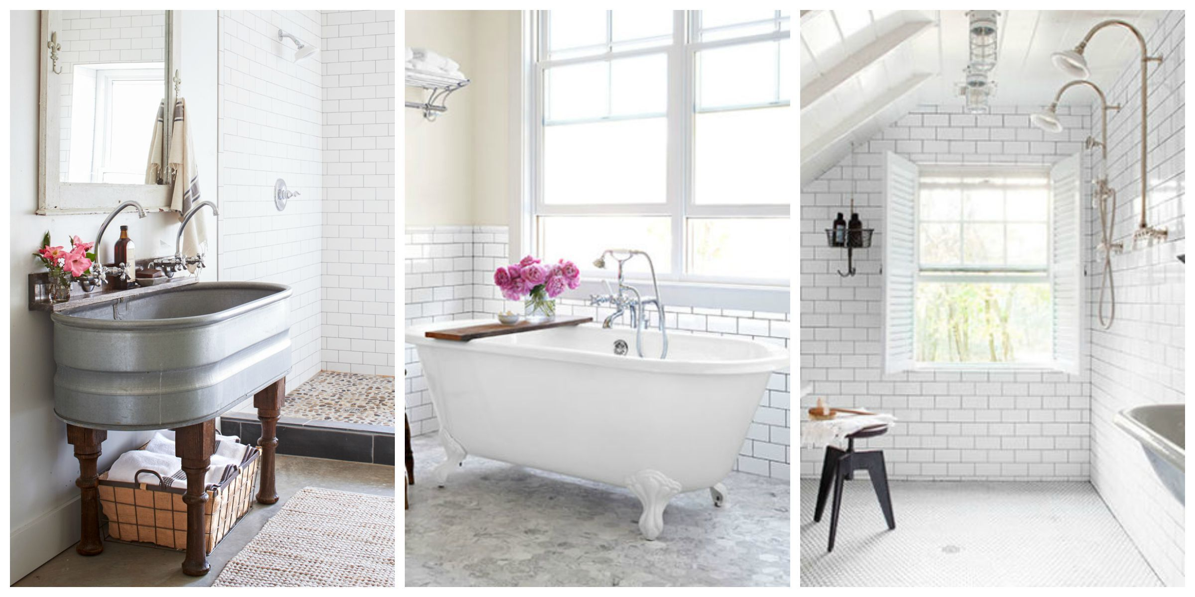 How to Arrange Subway Tile in Your Bathroom - Wall Coverings