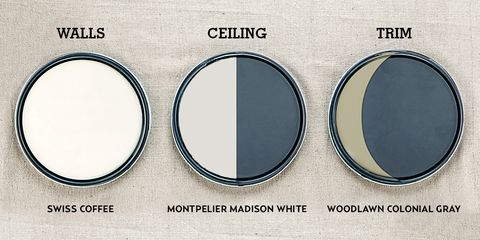 Paint Color Guide - Wall, Ceiling, and Trim Color Combinations