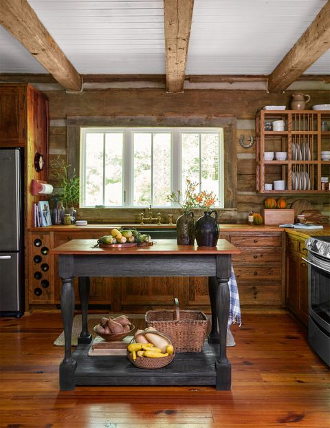 Wood, Room, Hardwood, Ceiling, Interior design, Major appliance, Wood stain, Fixture, Home appliance, Cabinetry,