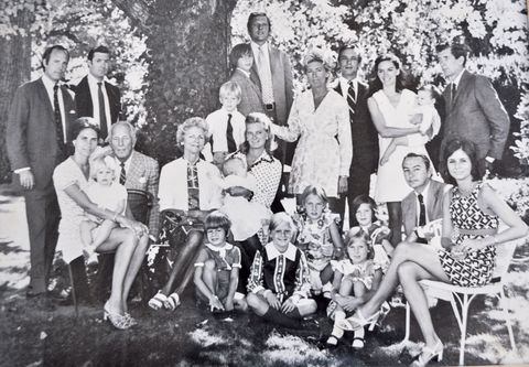 People, Social group, Photograph, Mammal, Sitting, Dress, Vintage clothing, Family pictures, Lap, Monochrome,