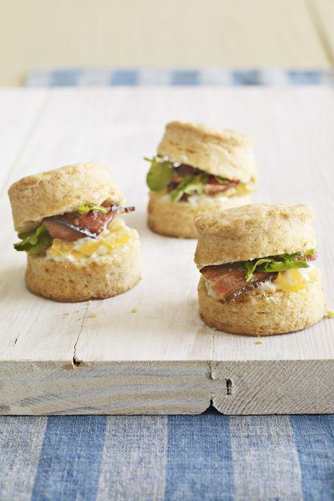 Food, Finger food, Cuisine, Ingredient, Sandwich, Baked goods, Produce, Dish, Breakfast, Leaf vegetable,
