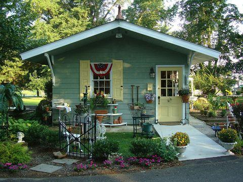 Plant, Window, Property, House, Flowerpot, Home, Real estate, Building, Door, Garden,