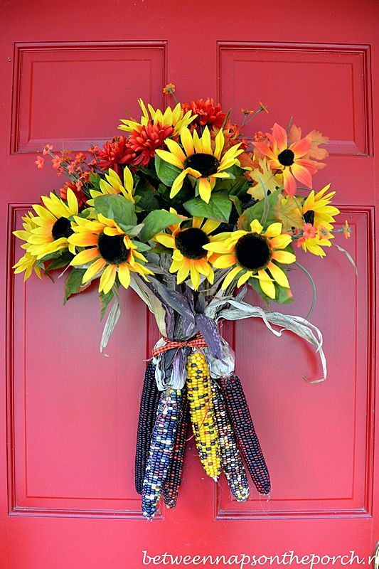20 Fall Door Decorations - Ideas for Decorating Your Front Door for Autumn & 20 Fall Door Decorations - Ideas for Decorating Your Front Door for ...