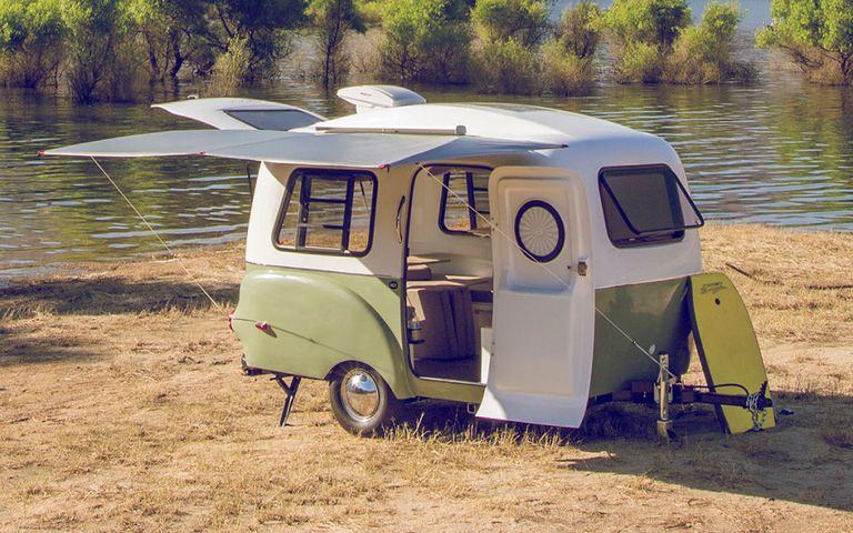 unusual tiny rvs. Courtesy of The Happier Camper This Tiny Lightweight Has Room For Everything You Need  And
