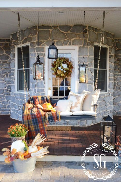 40 Fall Porch Decorating Ideas