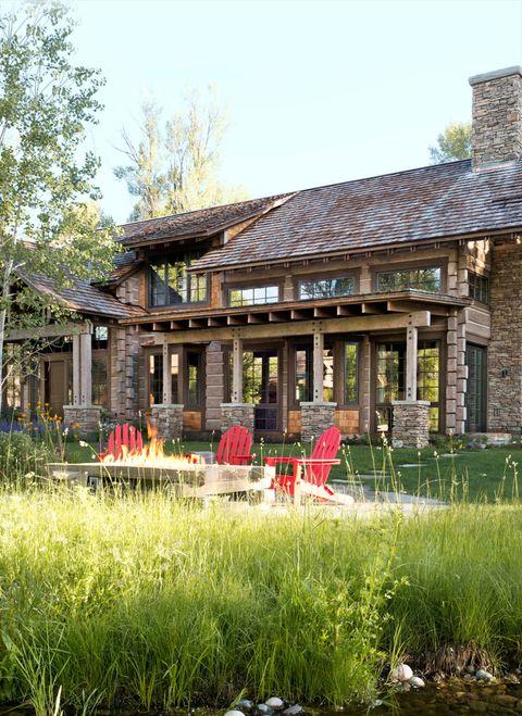 House, Roof, Outdoor table, Outdoor furniture, Garden, Cottage, Shade, Umbrella, Yard, Village,