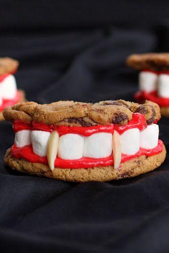 Food, Dish, Cuisine, Baked goods, Dessert, Finger food, Snack, Ingredient, Tooth, Baking,  Dracula's Dentures