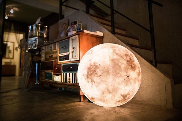 Lamps That Look Like The Moon Luna Moon Lights Country Living