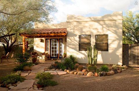 Plant, Door, House, Shade, Pebble, Garden, Yard, Backyard, Landscaping, Houseplant,
