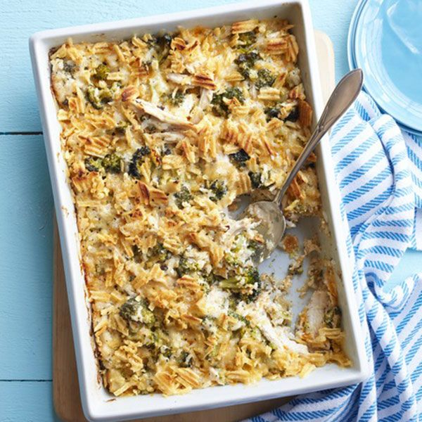 "<p>Trisha Yearwood uses pressure-cooked chicken breasts for the main ingredient in this dish. The rich casserole will feed a crowd or make great leftovers.</p><p><b>Recipe:</b> <a href=""http://www.delish.com/recipefinder/baked-broccoli-chicken-casserole-recipe-wdy0914""><b>Baked Broccoli and Chicken Casserole</b></a></p>"