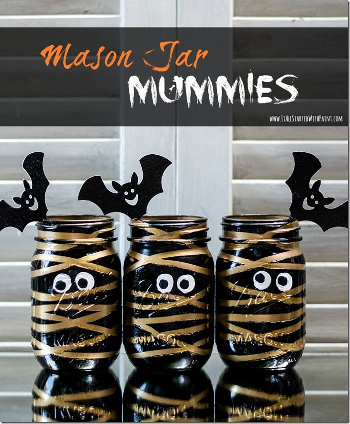 37 Halloween Mason Jars Craft Ideas For Using Mason Jars For Halloween