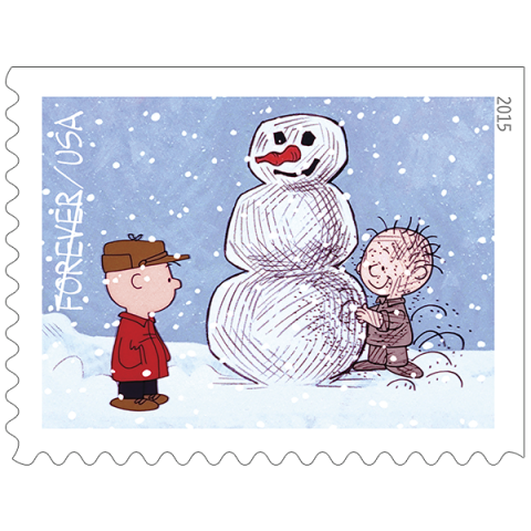 Quot A Charlie Brown Christmas Quot Stamps Usps Releases