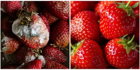 Fruit, Natural foods, Food, Vegan nutrition, Red, Sweetness, Produce, White, Whole food, Strawberry,