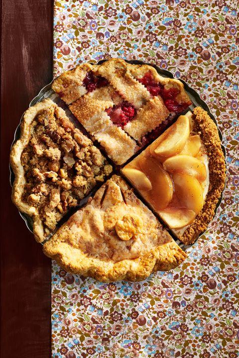 Ginger-Apple-Walnut Crumble Pie