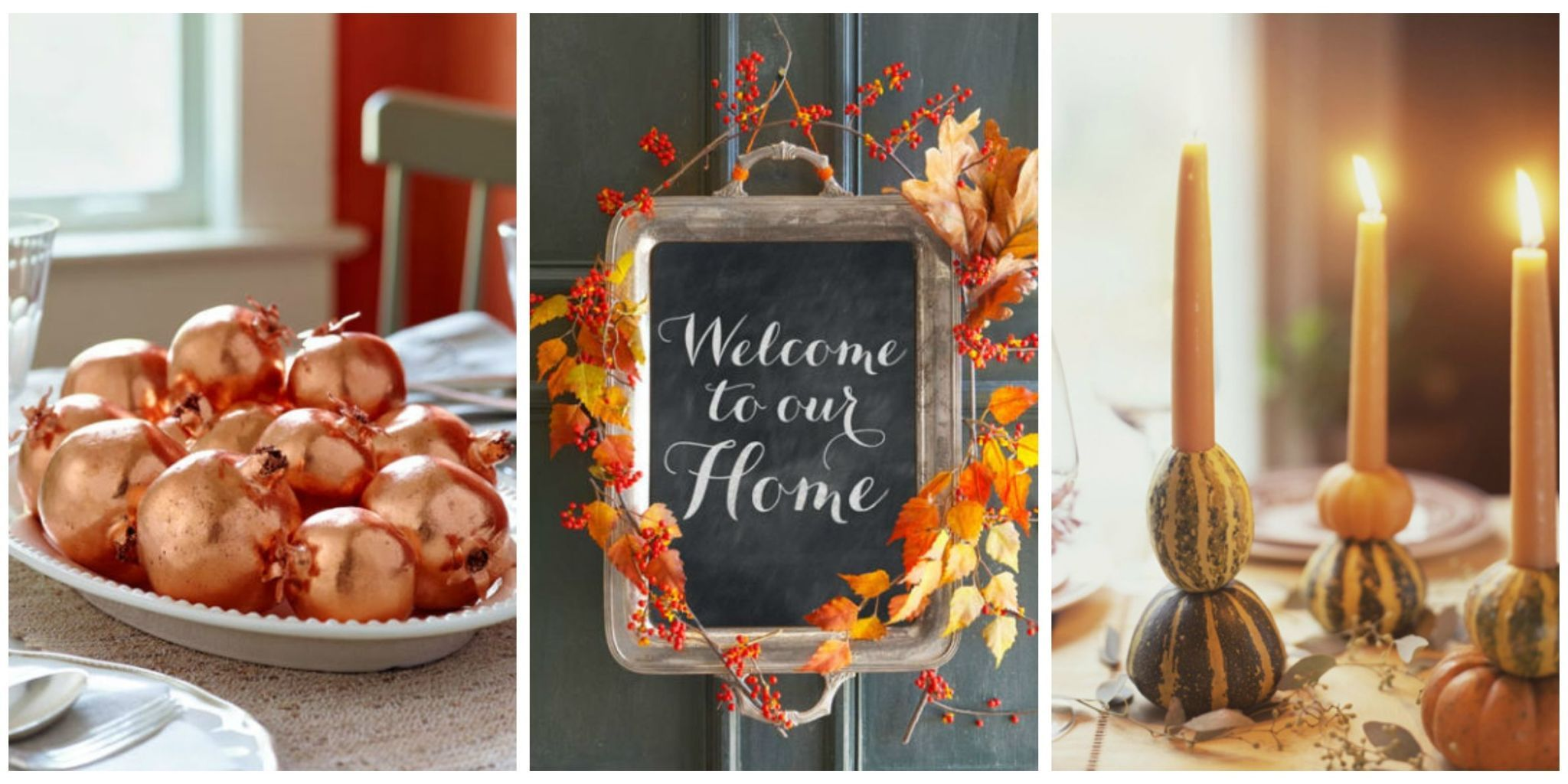 These Beautiful DIY Decor Ideas Will Spruce Up Your Home And Your  Thanksgiving Table.