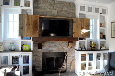 This One Stylish Country Approved Way Hide Your Television