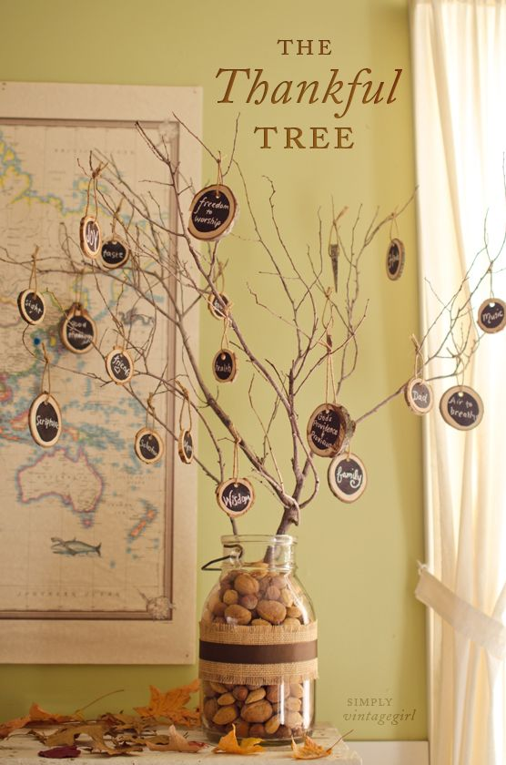 40 Easy DIY Thanksgiving Decorations - Best Ideas for Thanksgiving ...