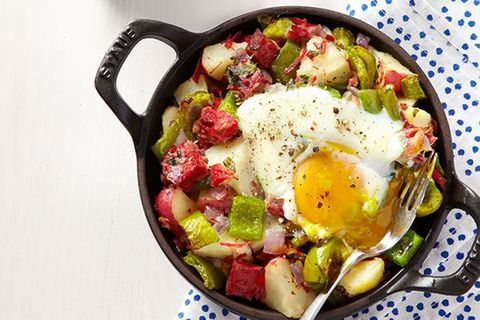 "<p>Your kids may not know what corned beef hash is yet, but isn't it time they learned?</p><p><strong>Recipe</strong>: <a href=""http://www.countryliving.com/food-drinks/recipes/a24141/corned-beef-hash-recipe-ghk0315/"" target=""_blank"">Corned Beef Hash</a><br></p>"