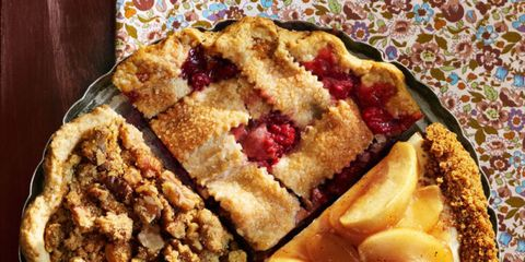 Dish, Food, Cuisine, Ingredient, Dessert, Cherry pie, Baked goods, Produce, Cobbler, Staple food,